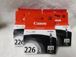 New Canon CLI-226 Bk 5 Pk - $40.00