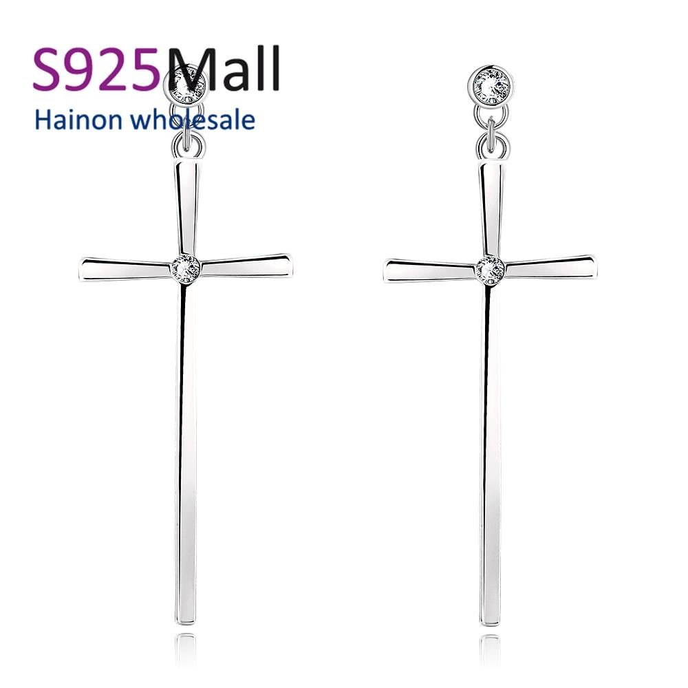 Earring for women wholesale nickle free antiallergic earrings for party engagement drop shipping