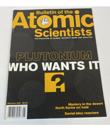 Bulletin of the Atomic Scientists Magazine May/June 2001 Plutonium Who W... - $10.85