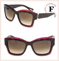 LANVIN 678 Havana Violet Pearl Brown Oversized Gradient Sunglasses SLN678S - $272.25