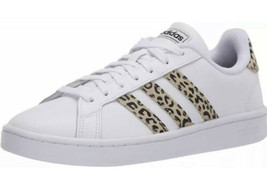 New adidas Grand Court Tennis White Womens Shoes Sz 8 NWT FW9778 - $60.76