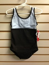 Bloch CL9495 Girl's Size 4-6 (Small) Black/Blue Two-Tone Reversible Tank... - $9.99
