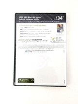 H&R Block at Home 2009 Deluxe Federal E-File Software Brand New image 2