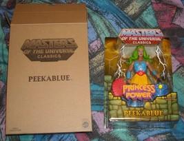 Peekablue MOTUC Masters of the Universe Classics MOSC MOC He-Man Skeletor  - $30.00