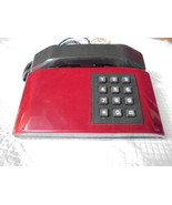TELEFONO ITALTEL TELEMATICA SIP PULSAR COLORE ROSSO 1985 funzionante TEL... - $39.22
