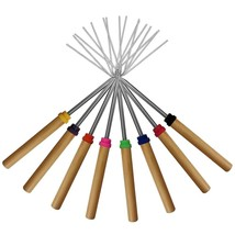 Roasting Sticks Set of 8 Telescoping Smores Skewers Patio Fire Pit Hot D... - €12,74 EUR