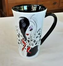 Disney Mug Cruella One Hundred One Dalmations Tall - $15.73