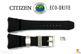 Citizen Eco-Drive B873-S028547 Black Rubber Watch Band B873-S01579 B673... - $99.95