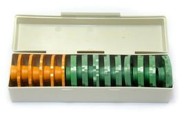 Vintage14 Sears Kenmore Sewing Machine Cam Box Set Fish Tree Swan Patter... - $24.54