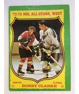 1973-74 Topps #50 Bobby Clarke Hockey Card VG+ Condition Flyers KV1 - $5.99