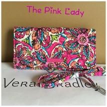 NWT Vera Bradley Sunbrust Floral Wallet Crossbody Wristlet iPhone Plus - $39.99