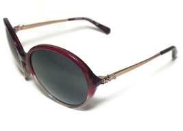 NEW COACH Red Sand Gradient HC8214 Carriage Sunglasses + Case - $115.99