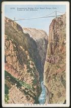 CO Royal Gorge Railroad Suspension Bridge Grand Canyon of the Arkansas P... - $4.99