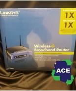 Linksys Cisco Wireless-G Broadband Router 4-Port Switch Model 2.4 GHz WR... - $18.00