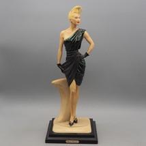 Vintage Original Vittorio Tessaro Lady Figurine Italy Limited Edition 19... - $163.34