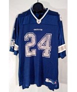 DALLAS COWBOY'S #24 MARION BARBER EQUIPMENT AUTHENTIC NFL JERSEY XL BLUE... - $19.95