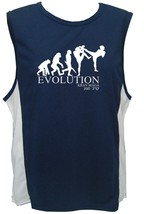 Krav Maga evolution close combat MMA moisture wicking polyester gym tank... - $12.99