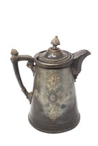 "Huge ANTIQUE ORNATE VICTORIAN ICE WATER PITCHER c. 1850, 13"" in Height! - $149.99"