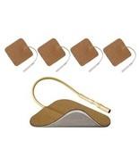Reusable Electrode 1.5 x 1.5 Square Tan Cloth-40/Pack - $22.86