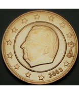 Belgique 5 Euro Centimes, 2003 Gem UNC ~ Albert II - $3.79