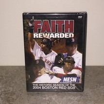 Factory Sealed Faith Rewarded: The Historic Season of the 2004 Red Sox DVD - $15.00