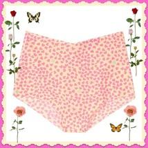 XL Yellow Pink HEART NO SHOW Seamless Victorias Secret High Waist Brief ... - $10.99