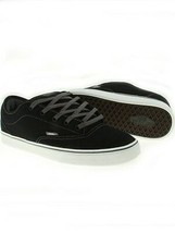 VANS AV ERA 1.5 BLACK WHITE TWILL MENS 7 WOMENS 8.5 SKATE SK8 SHOES AUTH... - $51.41