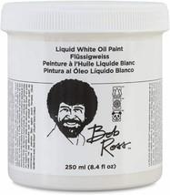 Martin/ F. Weber Bob Ross 250-Ml Oil Paint Liquid White - $21.50