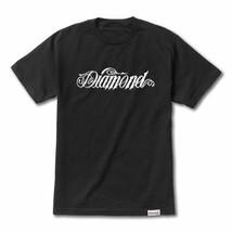 Diamond Supply Co Diamond Giant Script T-shirt Schwarz - $45.15