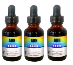 ADH-ABCD For Autism & Attention Deficit Hyperactivity Disorder (3 bottle... - $98.95