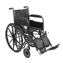 Drive Medical Silver Sport 2 With Fixed Arms and Leg Rests 18'' - $168.90