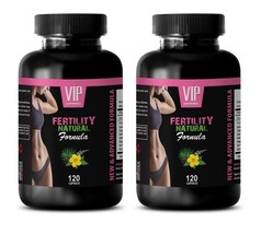 female sex drive booster -2B FERTILITY NATURAL 240 CAPSULES - folate b v... - $33.62