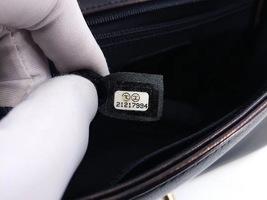 AUTHENTIC CHANEL BLACK LAMBSKIN NEW MEDIUM BOY FLAP BAG GHW image 8