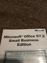 Microsoft Office 97 Small Business Edition with Key New Sealed - $12.82