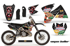 Decal Graphic Kit Wrap + Number Plates For KTM SX/XC/EXC/MXC 1998-2001 V... - $294.26