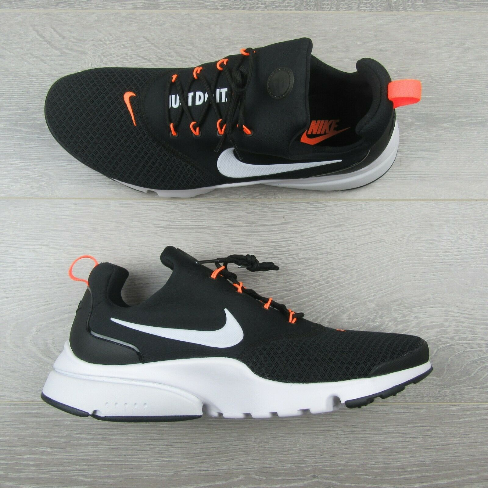 official photos 60306 a73c8 Nike Presto Fly JDI Black Running Shoes Size and 50 similar items