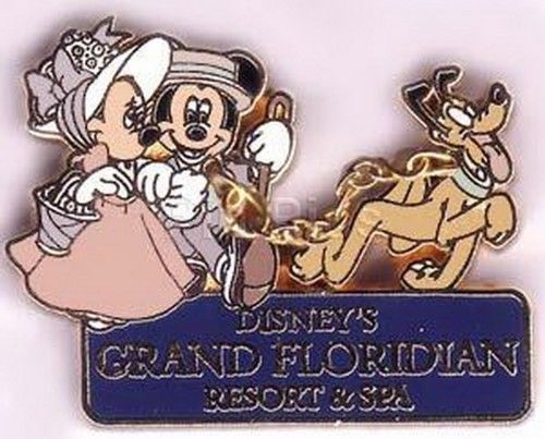 Primary image for Disney WDW Grand Floridian Resort Authentic WDW Disney pin