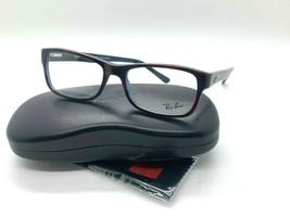 New Ray-Ban Optical Rb 5268 5973 Tortoise Blue Eyeglasses Frame 55-18-145MM - $77.62