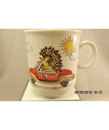 Seltmann Weiden Bavaria Child's Mug - Race car Helicopter Bird Hedgehog... - $12.19