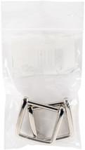 Sunbelt Purse Handle Hooks 2/Pkg-Nickel-Square - $5.55