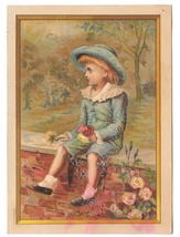 Trade Card Glitter Stove Tinware Frank J Murphy Instalment House Baltimo... - $37.50