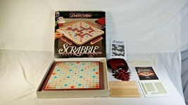 Scrabble Deluxe Edition Turntable Board Game 1989 Milton Bradley 4034 - $48.95