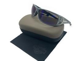HARLEY DAVIDSON Blue-Grey Sunglasses/ blue Mirror Lens HDS615 BLGRY-3F - $33.92