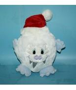 "Disney Resorts 5"" SANTA YETI White Blue Plush Red Xmas Hat Stuffed Soft ... - $24.18"