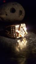 Illuminati free mason haunted ring of power and influence, knights Templar - $197.00