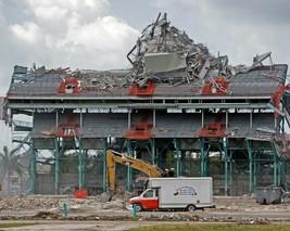 Orange Bowl Stadium 8X10 Photo Miami Hurricanes Ncaa Football - $3.95