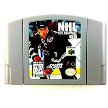 NHL Breakaway 98 Nintendo 64 1998 Cartridge Only Tested and Working - $2.92