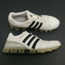 Adidas Scorch Bounce Running Shoes White Silver Black 141552 Mens Size 1... - $46.71