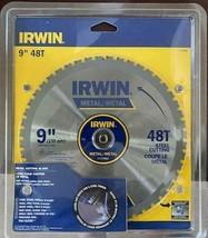 """Irwin 1779881 9"""" x 48T Metal Cutting Circular Saw Blade - $29.70"""