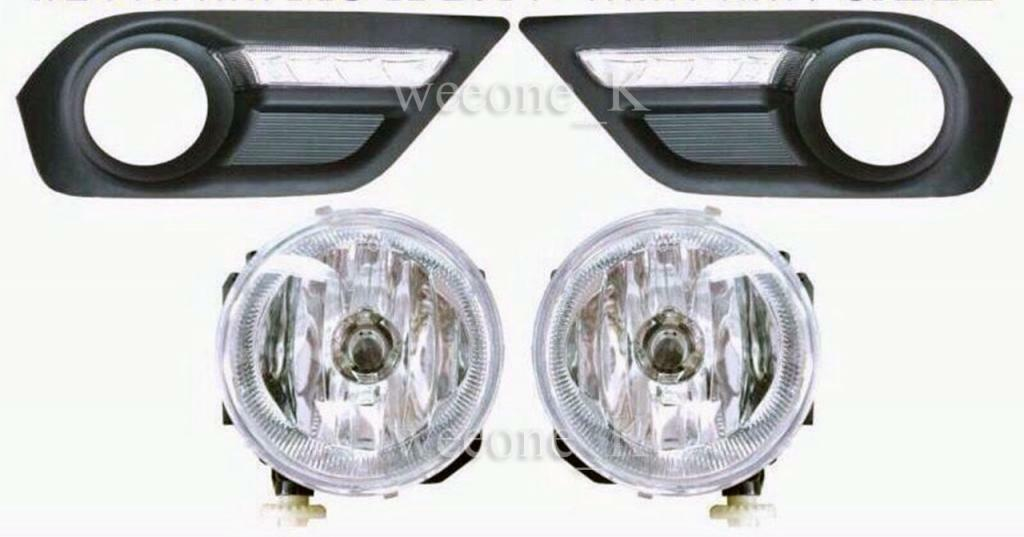 Primary image for FOG LIGHT AND DAYLIGHT DAY LIGHT LAMP FOR ISUZU MU-X MU X 2013 2014 2015
